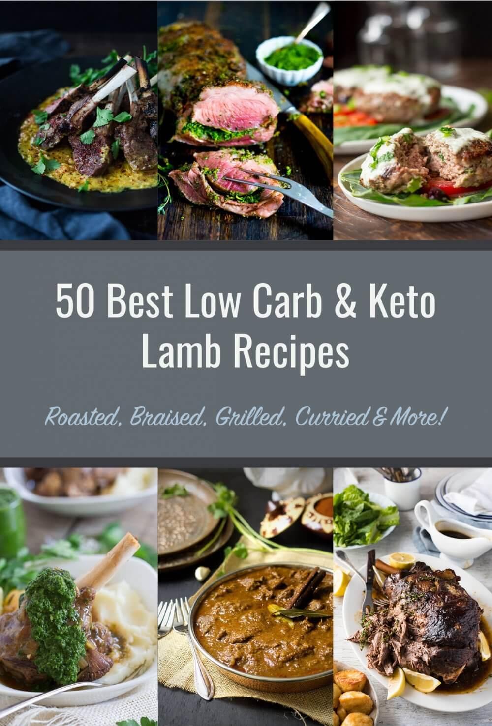 50 Best Low Carb & Keto Lamb Recipes