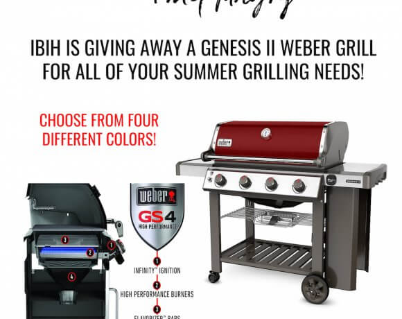 Weber Genesis II Grill Giveaway!