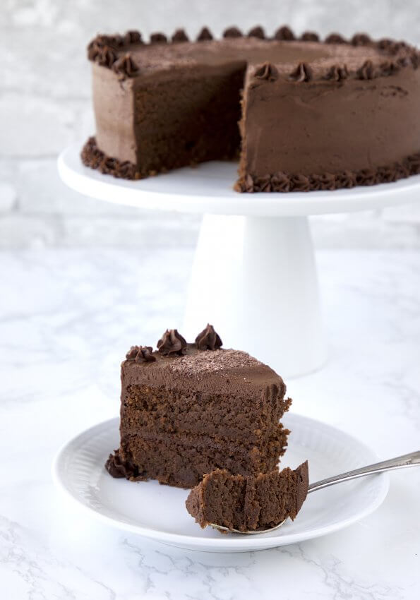 Epic Chocolate Crunch Cake - Keto for Life