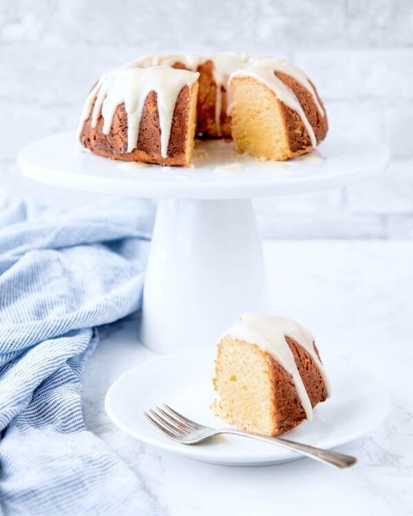 Lemon Bundt Cake - Keto for Life