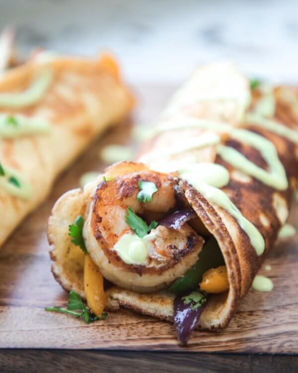 Shrimp Fajitas - Keto for Life