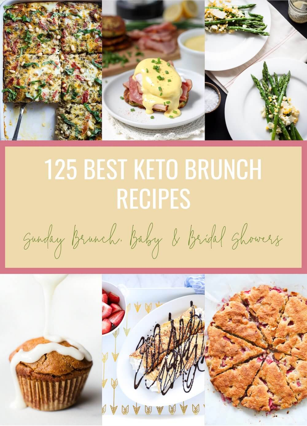 125 Best Keto Brunch Recipes Low Carb
