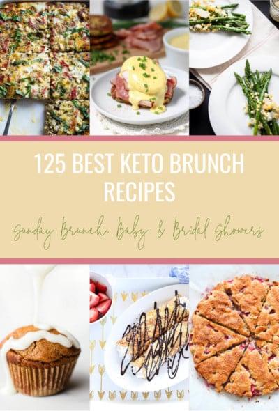 125 Best Keto Brunch Recipes Low Carb