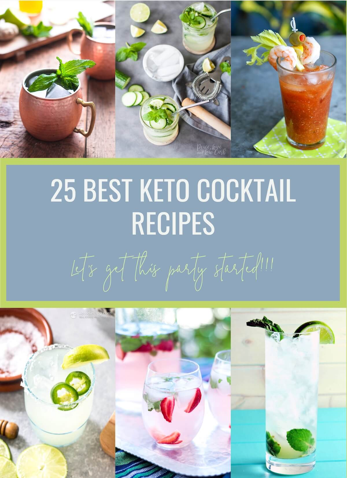 25 Best Ideas About Vintage Tarot Cards On Pinterest: 25 Best Keto Cocktail Recipes - Low Carb