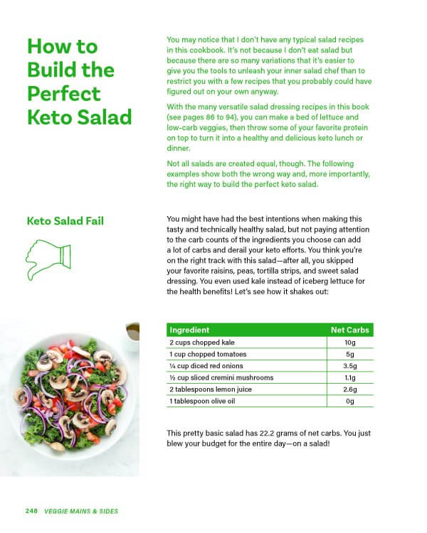 How to build the perfect keto salad