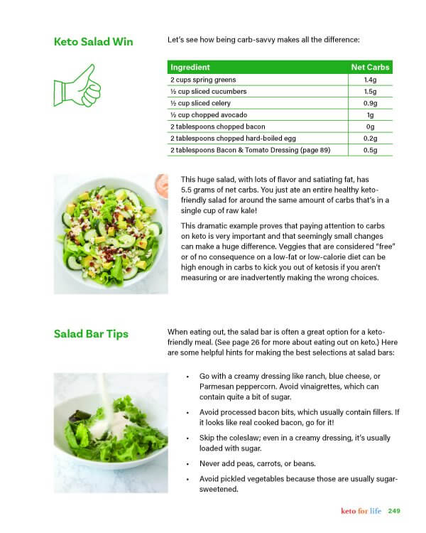 How to build the perfect keto salad part 2