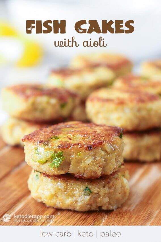 Best Keto Seafood Recipes - fish cakes