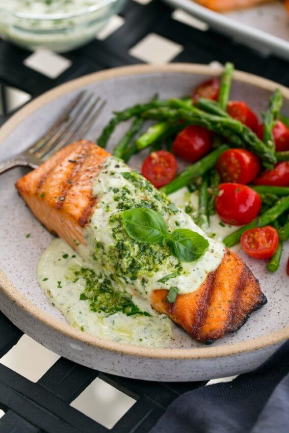 Best Keto Seafood Recipes - Salmon 6