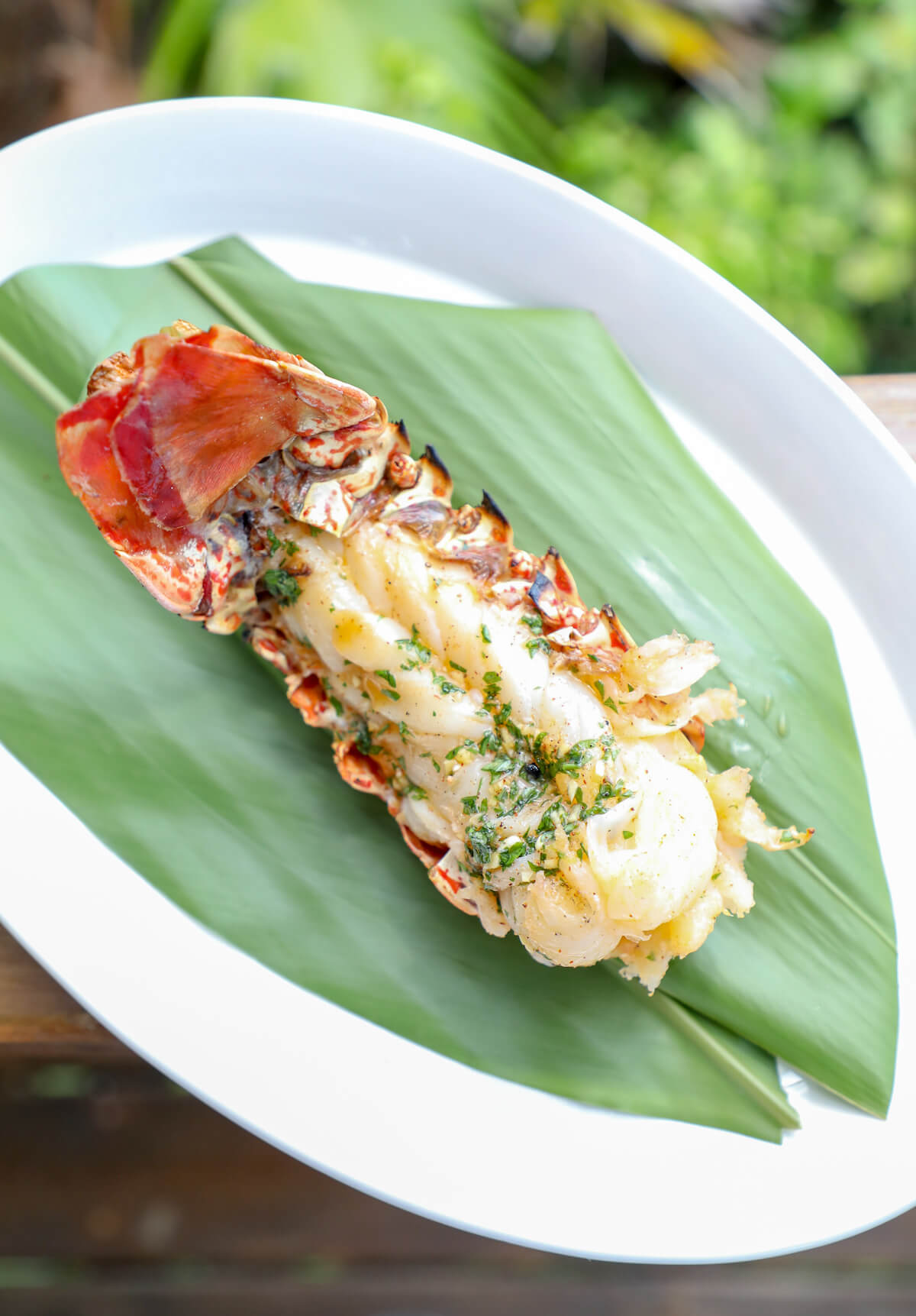 Keto Grilled Lobster Tails with Creole Butter - the perfect summer party food!  You can also substitute shrimp or even chicken! Low carb and Paleo.