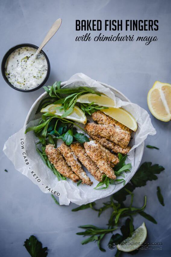 Best Keto Seafood Recipes - fish fingers