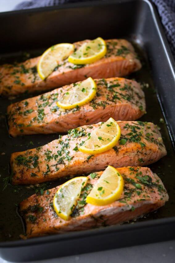 Best Keto Seafood Recipes - salmon 10