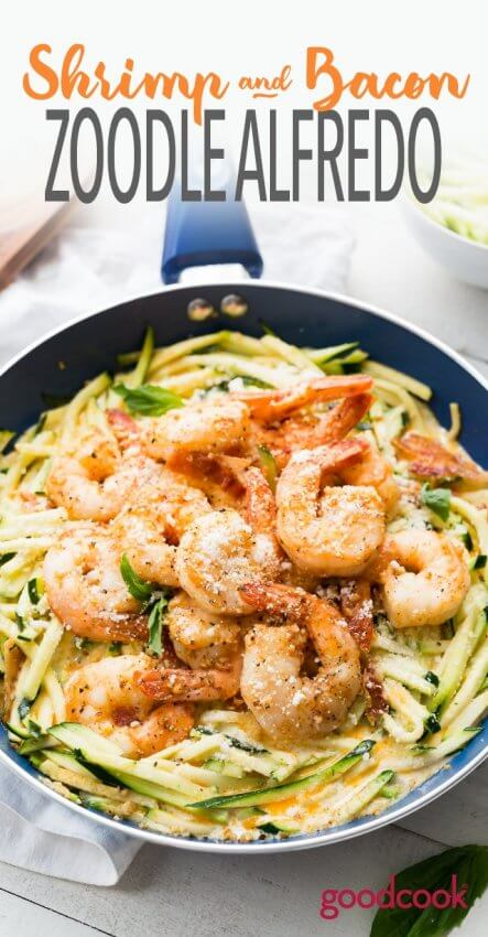 Best Keto Seafood Recipes - Shrimp Alfredo