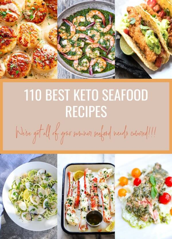 110 Best Keto Seafood Recipes Low Carb
