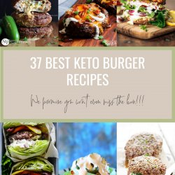 37 Best Keto Burger Recipes Low Carb