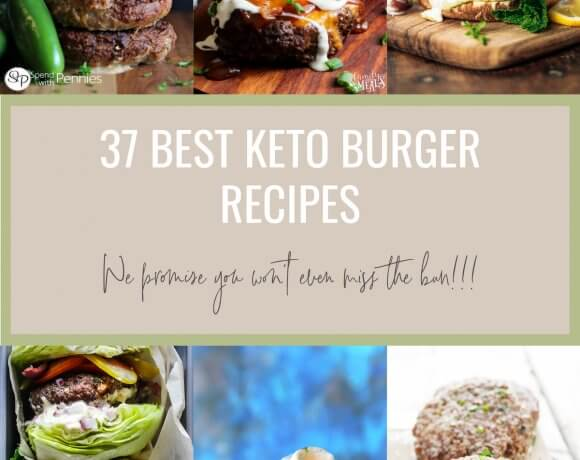 37 Best Keto Burger Recipes – Low Carb
