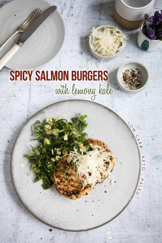 Best Keto Burger Recipes - salmon 1