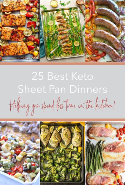 25 Best Keto Sheet Pan Dinners