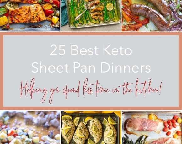 25 Best Keto Sheet Pan Dinners – Low Carb