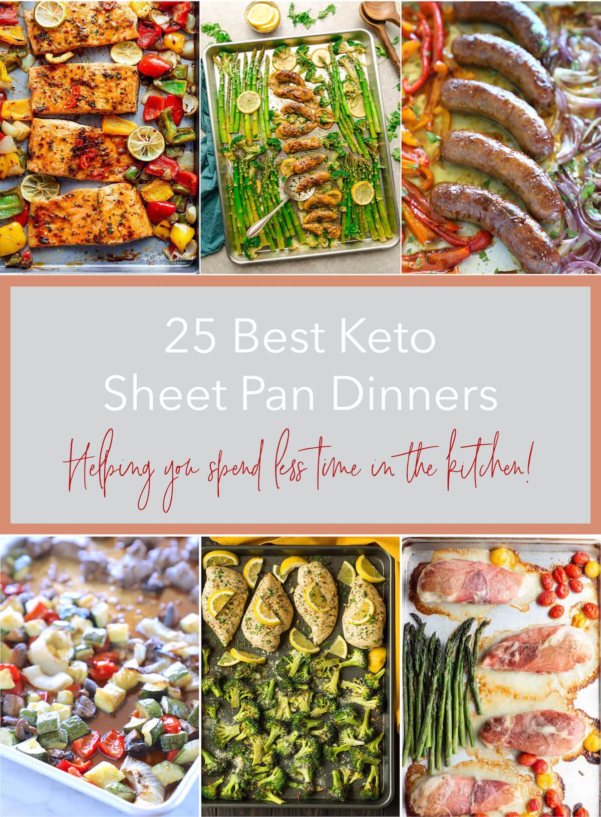 25 Best Keto Sheet Pan Dinners Low Carb I Breathe I M