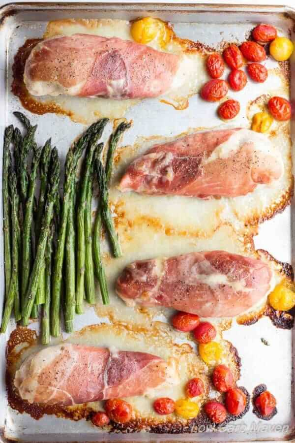 25 Best Keto Sheet Pan Meals - chicken