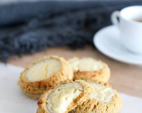 Keto Pumpkin Cheesecake Cookies – Low Carb