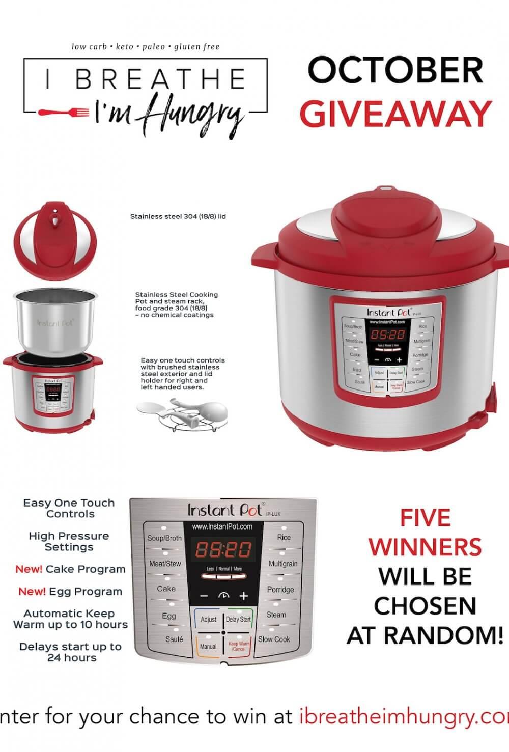 IBIH Instant Pot Giveaway