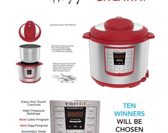 November Instant Pot Giveaway – TEN WINNERS!