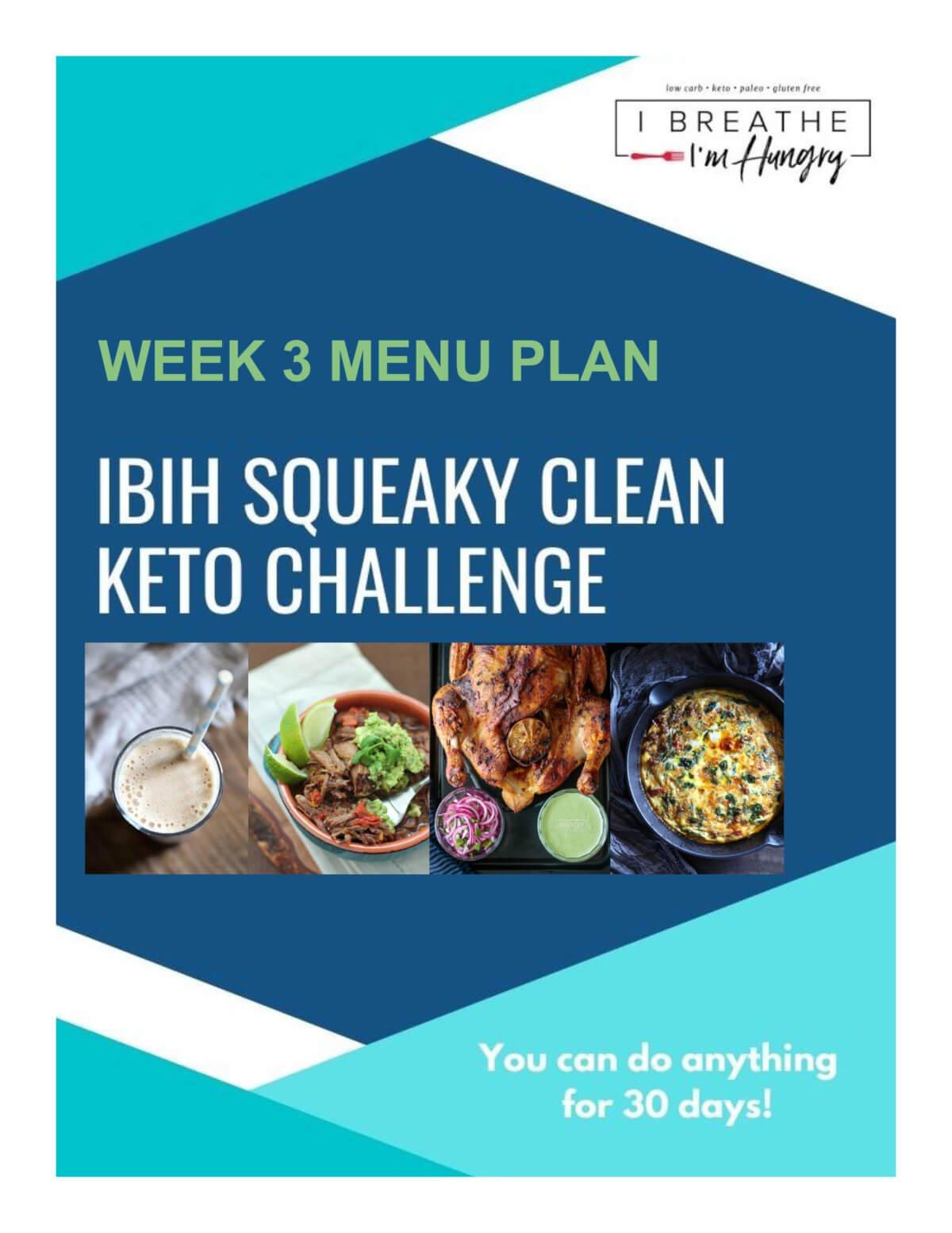 Week 3 SCKC Meal Plan Poster