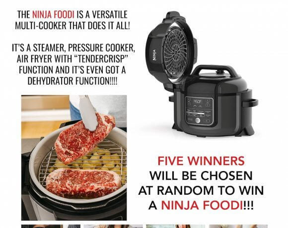 IBIH IS GIVING AWAY FIVE NINJA FOODI MACHINES IN FEBRUARY