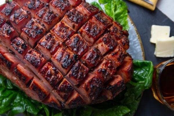 Best Keto Ham Recipes - baked ham