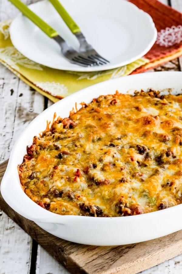 Best Keto cauliflower casseroles - taco