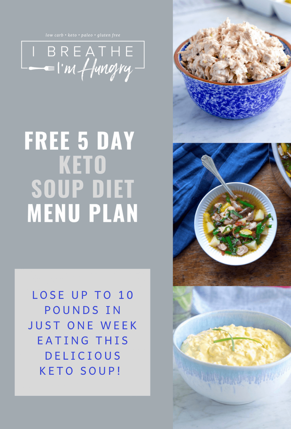 IBIH 5 Day Keto Soup Diet Poster
