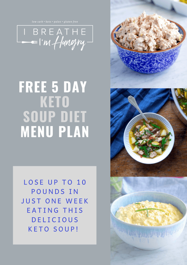 IBIH 5 Day Keto Soup Diet – Low Carb, Whole30, SCKC