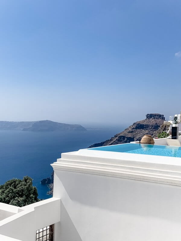 IBIH Vacation Travel Guide to Santorini - Imerovigli