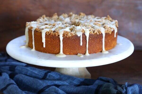Keto Pumpkin Chai Coffee Cake I Breathe I M Hungry