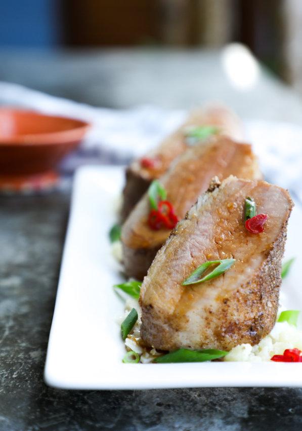 Keto 5 Spice Pork Tenderloin