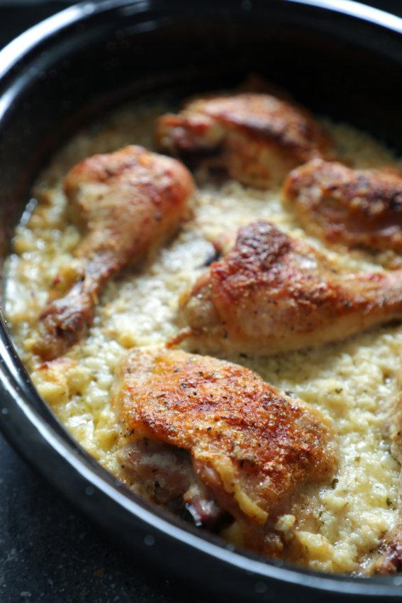 Keto Cheesy Ranch Chicken and Rice Keto Cheesy Ranch Chicken and Rice ranchchix3 567x850